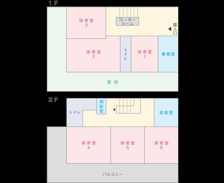 大豆戸_フロアガイド